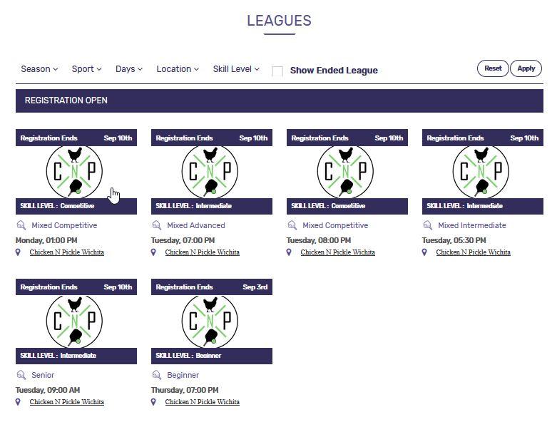 Select League